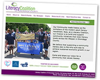Literacy Coalition Website
